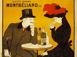 ABSINTHE J. EDOUARD PERNOT LEONETTO CAPPIELLO - METAL ADVERTISING WALL SIGN - RETRO ART