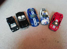 Die-cast sports cars