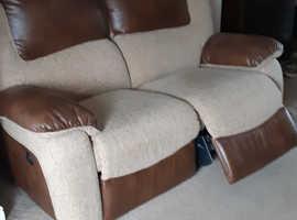 Reclining dfs sofas x 2