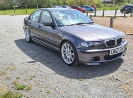 BMW 3 Series, 2003 (52) Grey Saloon, Manual Diesel, 134,751 miles