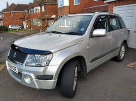 Suzuki Grand Vitara, 2008 (58) Silver Estate, Manual Diesel, 120,000 miles
