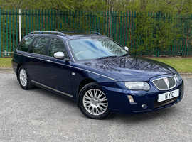 2005 ROVER 75 2.0 CDT AUTOMATIC TOURER ESTATE CONNOISSEUR SE - TOP SPEC, RARE