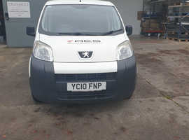 White Bipper 2010 Van 1.4 HDi 8v S Panel Van 3dr