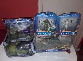 bundle of halo gaming merchandise