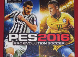 Xbox One 'PES2016 Pro Evolution Soccer' Game (new)