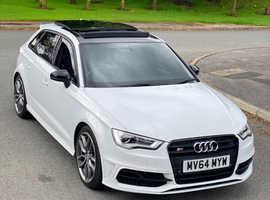 Audi S3, FULLY LOADED,  2014, S-Tronic, 50K, Pan Roof, Sat NAV, H/Seats, etc, etc