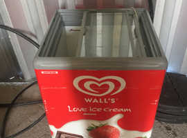 Small chest ice cream freezer for sale