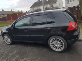 Volkswagen Golf, 2004 (54) Black Hatchback, Manual Petrol, 150,000 miles