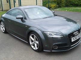 Audi TT, 2010 (60) Grey Coupe, Manual Diesel, 116,000 miles