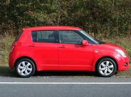Suzuki Swift, 2009 (59) Red Hatchback, Manual Petrol, 49,000 miles, 01443 831670
