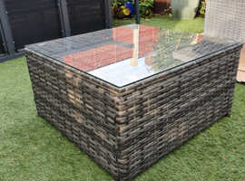 Rattan style coffee table (new)