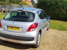 Peugeot 207, 2010 (60) Silver Hatchback, Manual Petrol, 120,000 miles