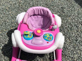 My Child Coupe 2-in-1 Baby Walker in Pink
