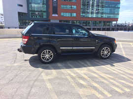 Jeep Grand Cherokee, 2010 (60) Black Estate, Automatic Diesel, 86,000 miles