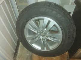 Sportage 1 Spare Wheel