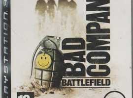 Sony Play Station 3 Battlefield Bad Company with instructions