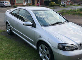 Vauxhall Astra, 2004 (54) Silver Coupe, Manual Petrol, 101,000 miles
