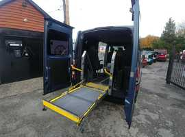 Renault Master 100Dci Wheelchair Van with Ricon lift, 5 seats, sat nav, air con,  Free Delivery, px welcome