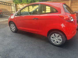 Ford Ka, 2013 (13) Red Hatchback, Manual Petrol, 27,729 miles