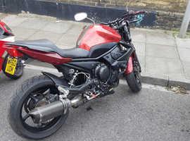 Yamaha XJ6 Sport motorcycle