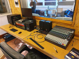 Small town Recording Studio startup fundraiser