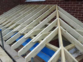 Carpenter with over 35 years of experience , Specialist in hand cut roofs and most aspects of carpentry