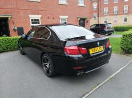 BMW 5 Series, 2011 (11) Black Saloon, Manual Diesel, 118,000 miles