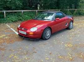 MG Mgf, 1998 (S), Manual Petrol, 86,000 miles