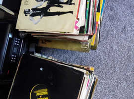 Awaiting collection..... 445 vinyl records all different ranges 100 pound ono