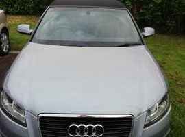 Audi A3,(60) Silver Convertible, tfsi s line