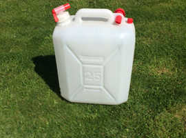 Water 25 litre container