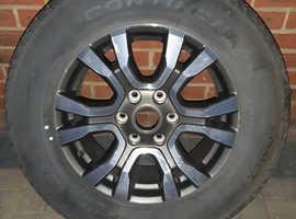 Ford ranger wildtrak wheels