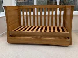 Mamas and Papas solid oak nursery furniture