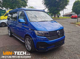 VW T6.1 Parts and Grille, Lower Splitter and Side Bars!