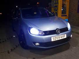 Volkswagen Golf, 2009 (59) Blue Hatchback, Manual Petrol, 65,000 miles