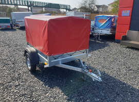 NEW TRAILER FRAME AND COVER- CAMPING TRAILER 100cm 5x4