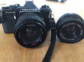 Pentax camera retro film