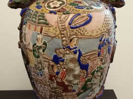 Collection of Antique Oriental Vases of varying sizes, dates and designs.
