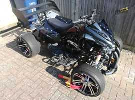 spmz hsr 250cc jinling custom quad 2018 reg