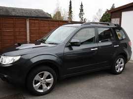 Subaru Forester, 2011 (11) Grey Estate, Manual Diesel, 65,000 miles