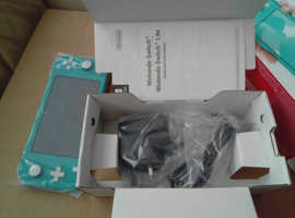 Brand New turquoise Nintendo switch lite