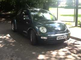 Volkswagen Beetle, 2004 (04) Green Hatchback, Manual Petrol, 79,000 miles