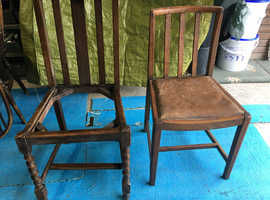 Chairs in need of restoration