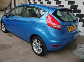 Ford Fiesta, 2011 (11) Blue Hatchback, Manual Petrol, 82,000 miles