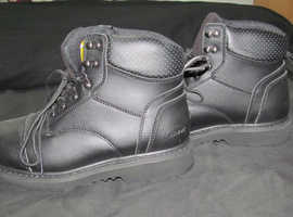 steel toe cap boots size 8