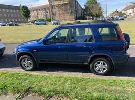 Honda CR-V 2.0I ES, 1999 (V) Blue Saloon, Automatic Petrol, 125,000 miles