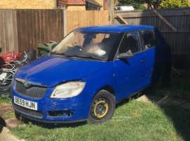 Skoda Fabia, 2009 (59) Blue Hatchback, Manual Petrol, 85,339 miles