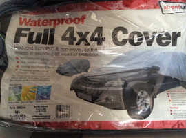 4 x 4 car cover