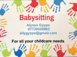 Trustworthy Babysitting service