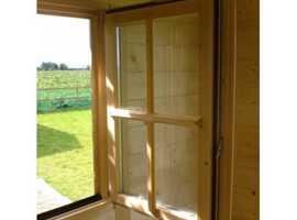 Dorset 45 log cabin 4m x 3m